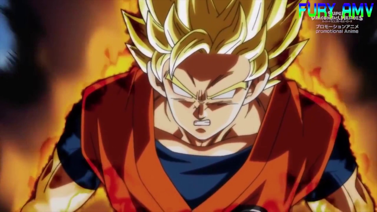 Super Dragon Ball Heroes AMV Let It Burn