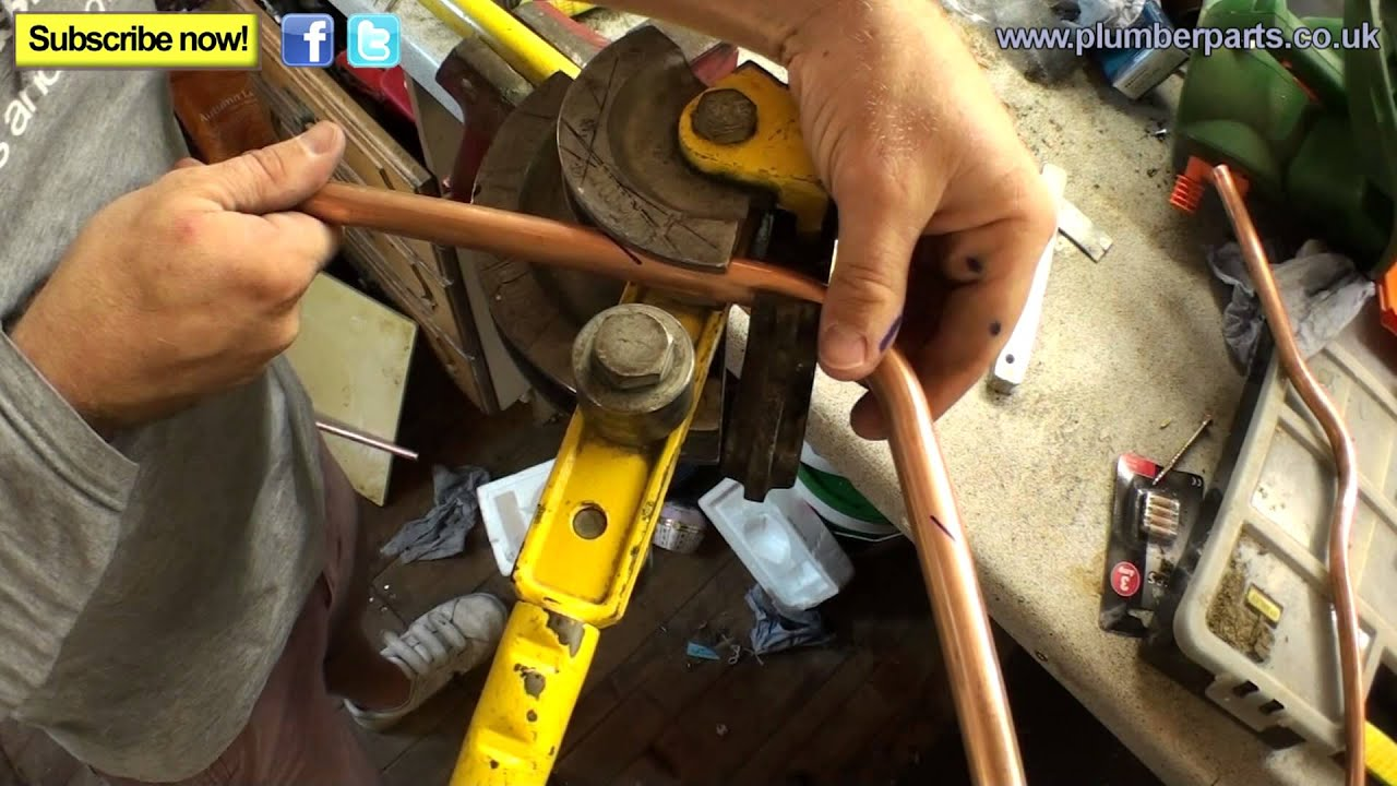 HOW TO BEND A CROSSOVER - COPPER PIPE - Plumbing Tips