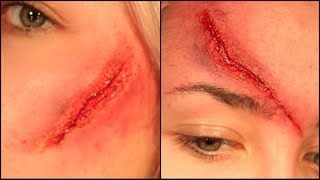 How to: Cuts/Wounds EASY (only using lash glue) Thumbnail