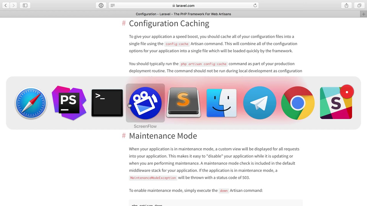 The Config Cache - Performant Laravel