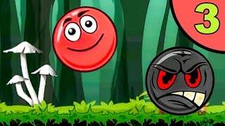 Несносный красный шар. Покатушки #3. Мультик ИГРА Red Ball Roll на Игрули TV