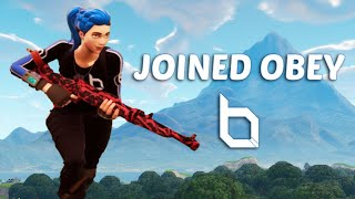 Joined Obey! - Custom Skin Fortnite Montage