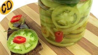 Бутербродные ЗЕЛЕНЫЕ ПОМИДОРЫ или ФИЗАЛИС на зиму Соттолио. Лучшая закуска из зеленых томатов.