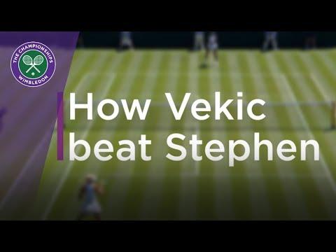 Wimbledon 2018 | How Donna Vekic beat Sloane Stephens