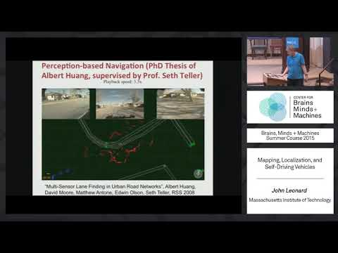 Lecture 8.2: John Leonard - Mapping, Localization and Self Driving Vehicles
