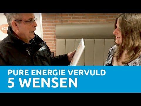 Pure Energie laat 5 wensen uitkomen
