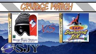 Saturn Snowboarding Grudge Match: Steep Slope Sliders vs. Zap! Snowboarding Trix