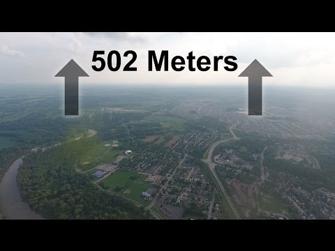 Maximum Altitude Drone Flight
