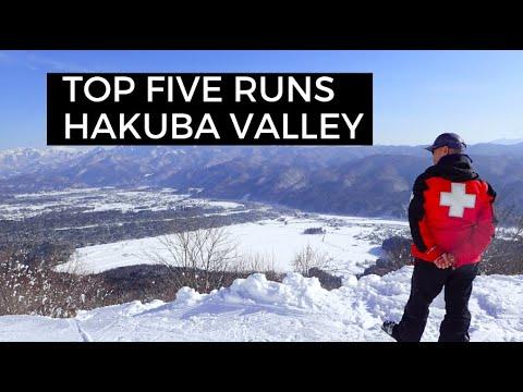 TOP 5 RUNS FOR SNOWBOARDING IN THE HAKUBA VALLEY JAPAN   Simonthego