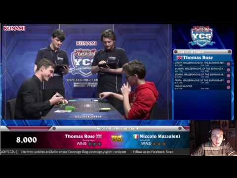 YCS Liverpool 2016 Top 4  Feature Match: Thomas Rose vs Niccolo Mazzoleni