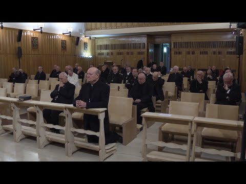 Pope Francis begins spiritual exercises outside of Rome