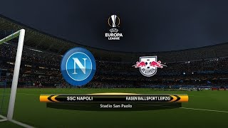 Napoli vs. RB Leipzig | 15/02/2018 | UEFA Europa league 2017/2018