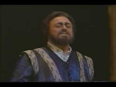 Luciano Pavarotti La Mia Letiza Infondere from I Lombardi.