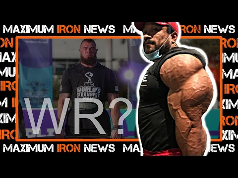 Flex Lewis Return   Deadlift Controversy   Bodybuilding, Powerlifting and Strongman News
