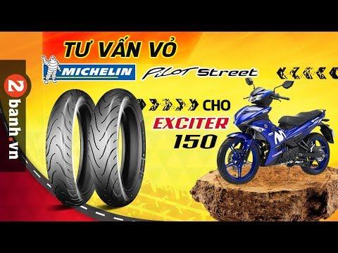 Vỏ Michelin Pilot Street Cho Exciter 150 - Lựa Chọn Sao Cho Phù Hợp