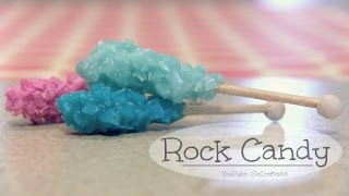 Rock Candy - Polymer Clay Charm - How To - Mini Sugar Crystal Sticks