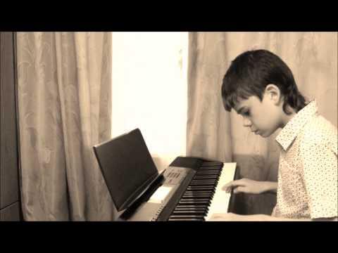 Ласковый Май-Розовый вечер(piano)-подбор на слух