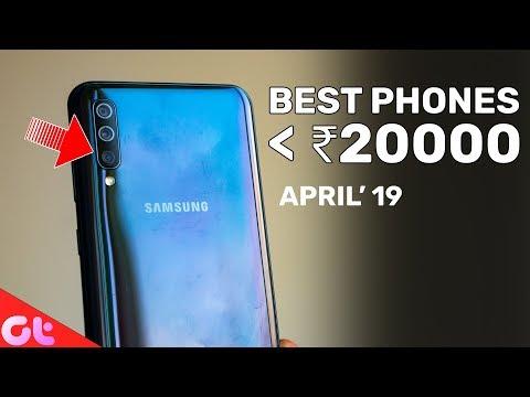 TOP 6 BEST PHONES UNDER 20000 (April 2019) | GT Hindi