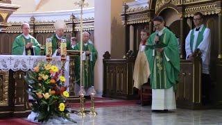 Msza Św. z kościoła pw. Wszystkich Świętych w Brusach podczas Dożynek Wojewódzkich