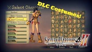 Samurai Warriors 4-II / DLC Costume Showcase (PS4)
