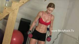 Fitness - Boot Camp Workout 5: Squats, Shoulders and Lifts Exercise