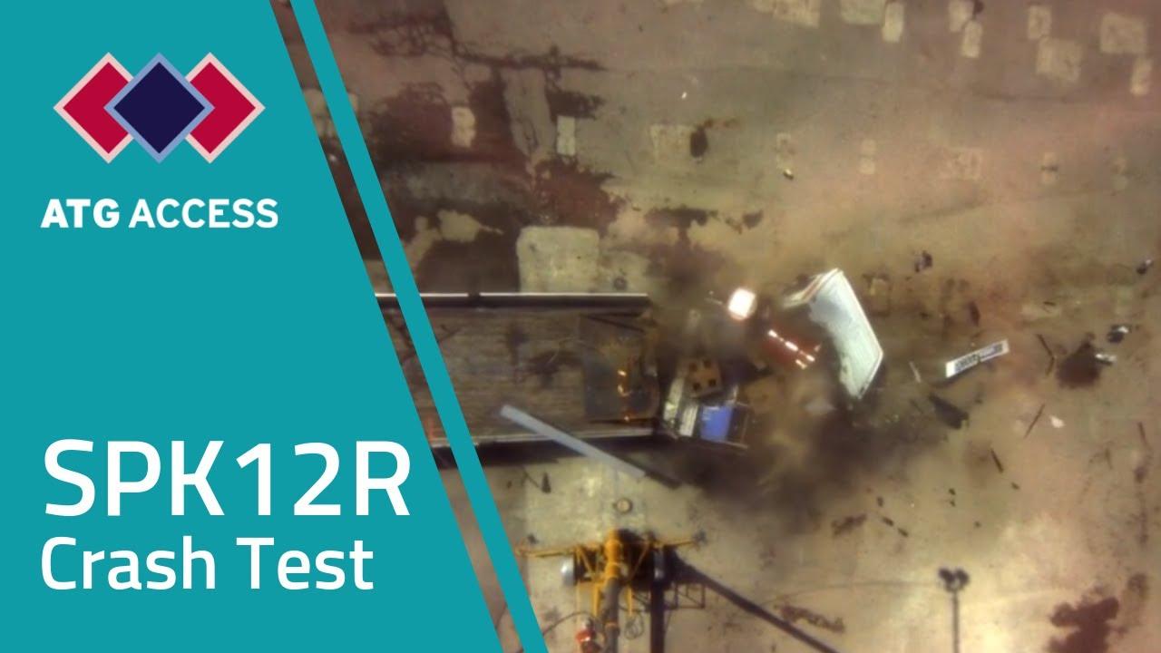 Spk12r Hvm Removable Bollard Crash Test Counter Terrorism Atg Access