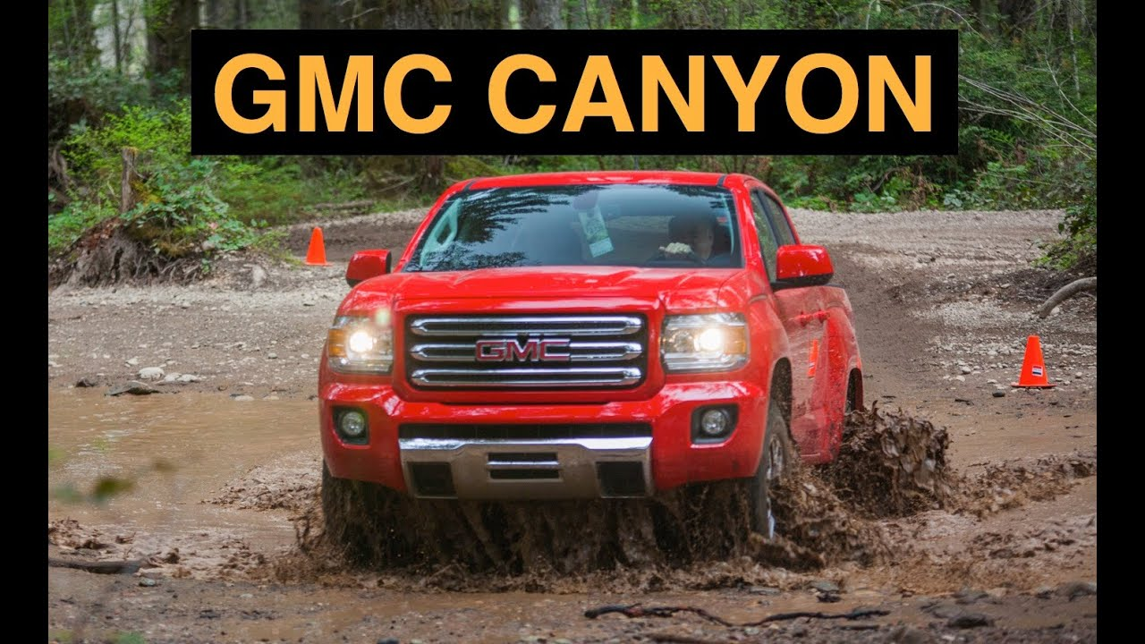 2015 GMC Canyon 4WD - Off Road And Track Review - YouTube