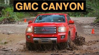 2015 GMC Canyon 4WD - Off Road And Track Review