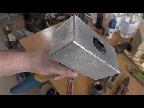 Молот Тора из алюминия своими руками