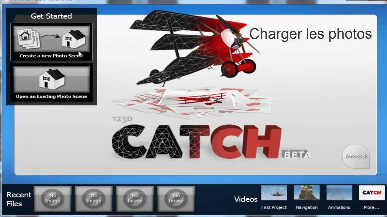 autodesk 123d catch français
