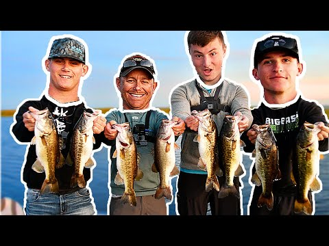 PRO Fisherman Vs YOUTUBERS Fishing Tournament!