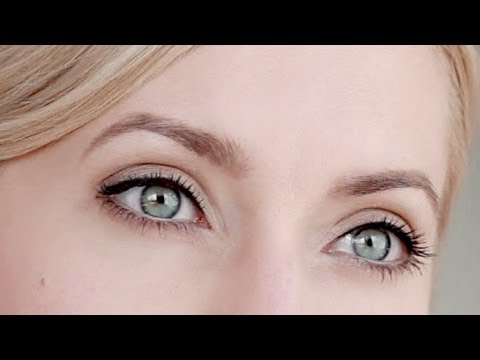 Eye make up natural tutorial