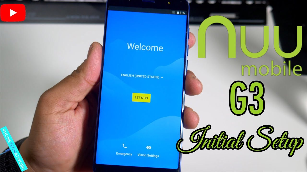 NUU Mobile G3 Initial Setup/First Impressions  Storage?Camera?Any Lag?
