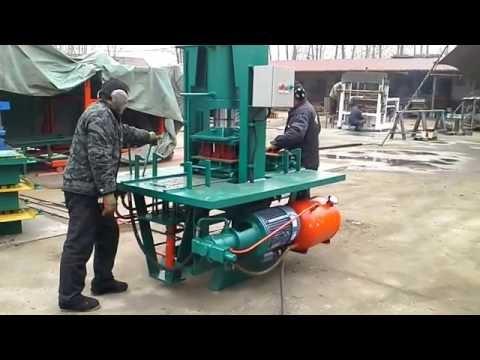 QT500 Static Pressure Hydroform Block Forming Machine