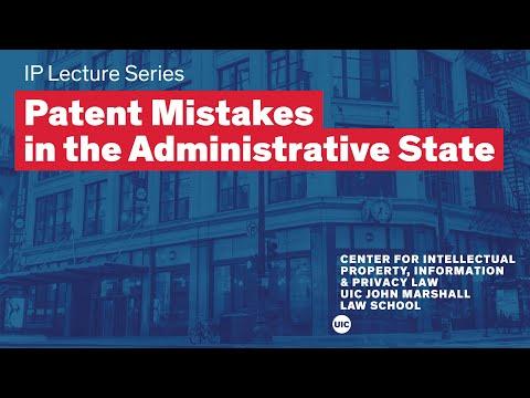 2016-2017 IP Lecture Series: Professor Saurabh Vishnubhakat | The John Marshall Law School