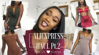 Aliexpress Haul pt.2 +Try on