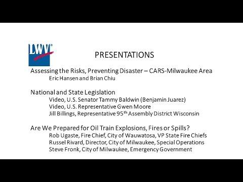 LWV: Your Right to Know: Oil Train Risks to Metro Milwaukee