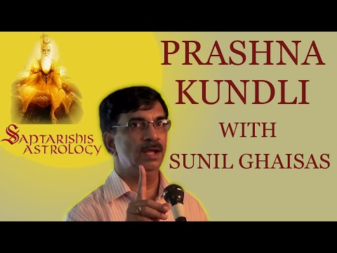 Prashna Kundali with Sunil Ghaisas - Hindi Lecture - Master Lecture Series 3