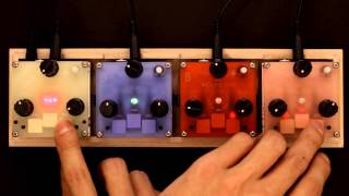 Bastl Trinity - handmade electronic instruments, track Rajce performed by HRTL