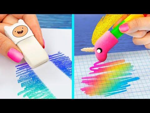 14 DIY Adventure Time School Supplies