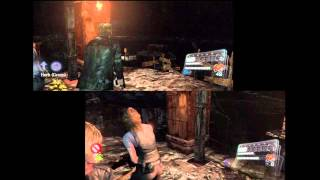 Resident Evil 6 / Biohazard 6 HD - Leon & Helena Campaign Split Screen Co-Op Walkthrough Part 6