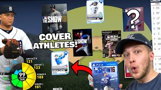 MLB THE SHOW COVER ATHLETES TEAM BUILD 2009-2020
