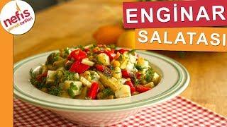 Çok Pratik ve Lezzetli Enginar Salatası - Denemeyen Kalmasın! - Nefis Yemek Tarifleri