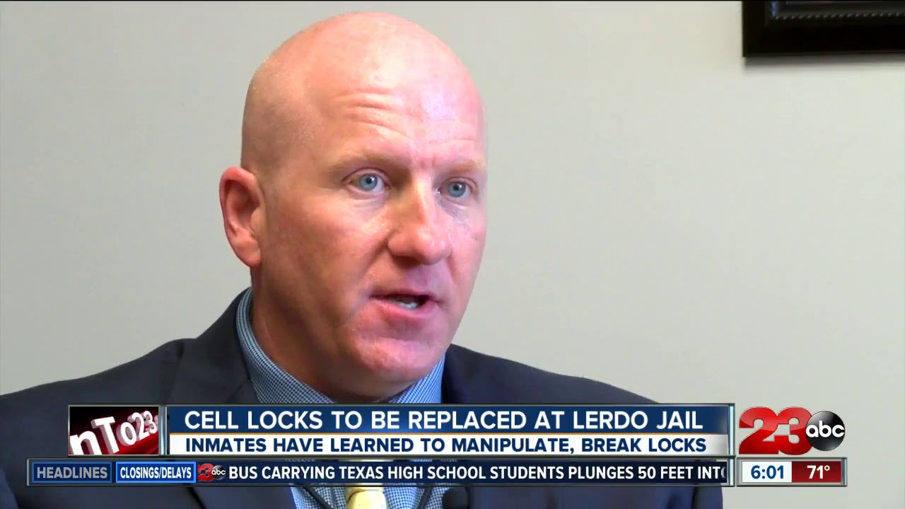 448 cell door locks to be replaced at Lerdo Jail