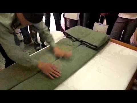 How You Fold The Blanket, PLA Style