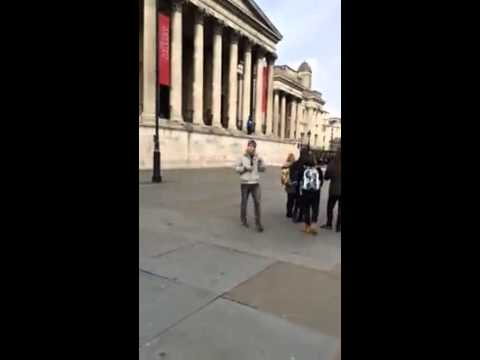 Crazy Trafalgar Square Jumper