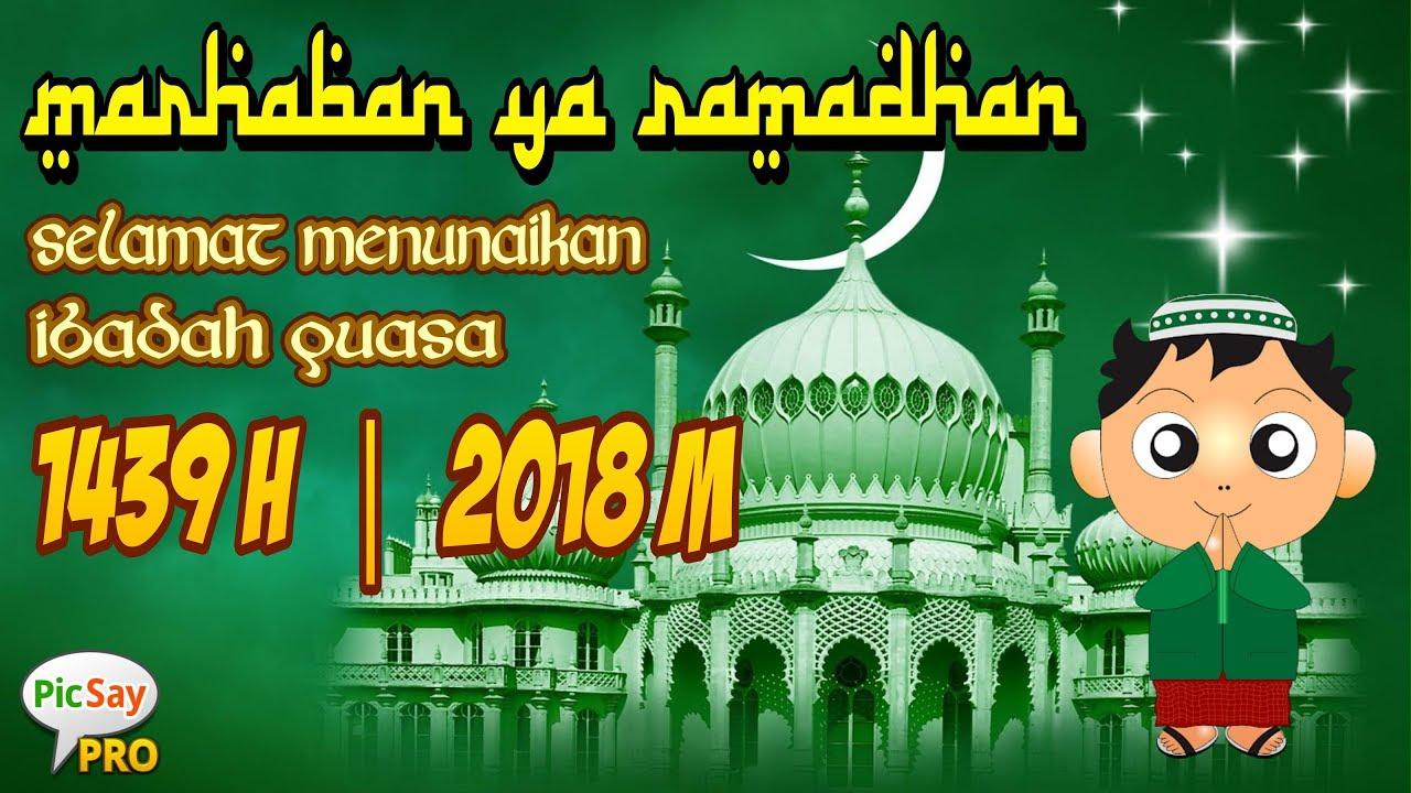 Cara Edit Foto Kartu Ucapan Ramadhan 2018 Tutorial Picsay Pro