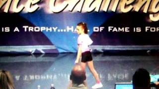 Cassidy at Hall of Fame Dance Competition