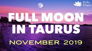 FULL MOON NOV 2019: Divine Masculine & Feminine joining forces to move into unchartered territory