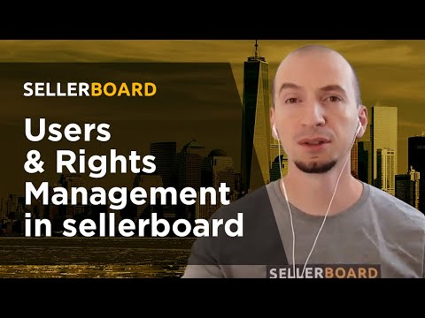 Users & Rights Management in sellerboard